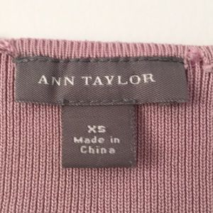 Ann Taylor Tops - Pink cropped shirt